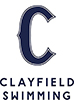 Clayfield Swimming Logo