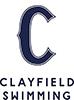 Clayfield Swimming Logo